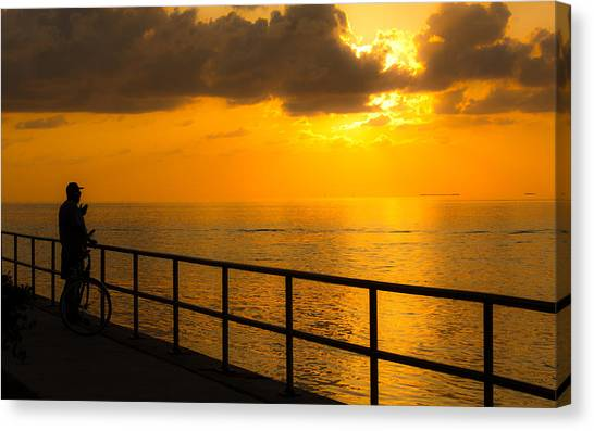 Awesom View Canvas Print