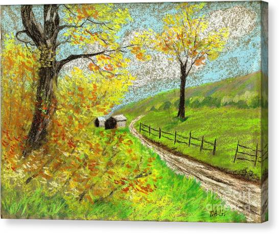 Awesome Autumn Canvas Print