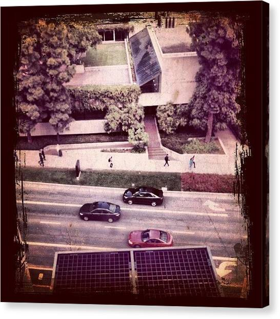 Ucla Canvas Print - #awesomized #instagram #ubiquography by Juan Guevara