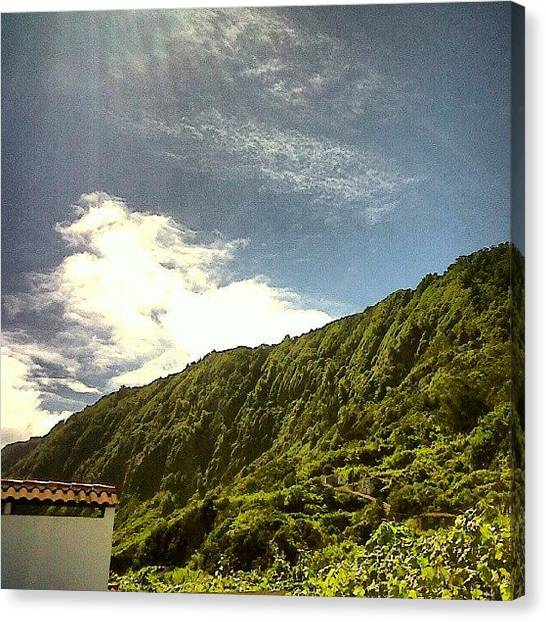 Soccer Leagues Canvas Print - #azoresislands #azores #islands #sky by Jorge Silveira Sousa