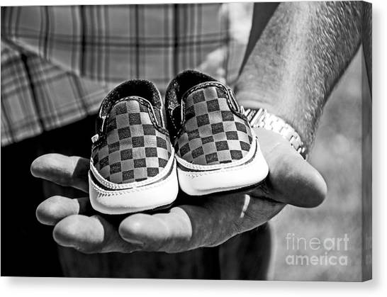Baby Shoes Canvas Print by Baywest Imaging