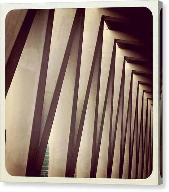 Patterns Canvas Print - Back Entrance. #minthotel #oosterdok by Robbert Ter Weijden
