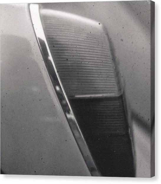 Beetles Canvas Print - Back Light #detail Of A #volkswagen #vw by Andy Kleinmoedig