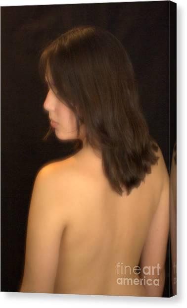 Back Profile Canvas Print