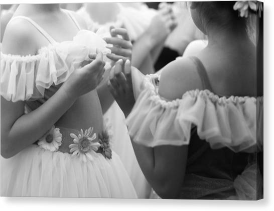 Back Stage Canvas Print by Denice Breaux