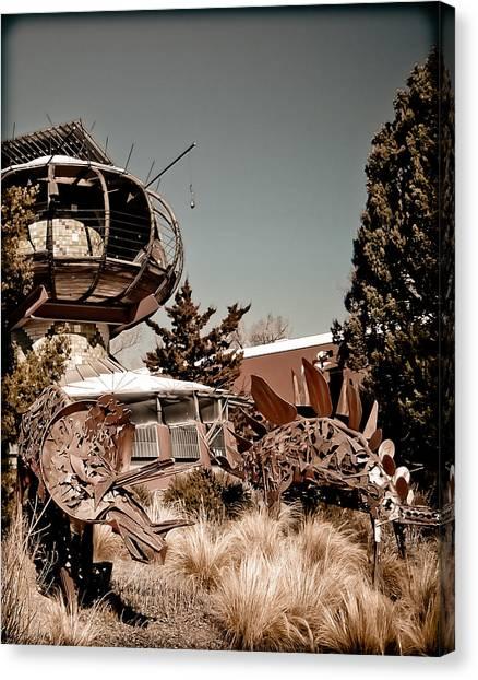Albuquerque, New Mexico - Back To The Future Canvas Print