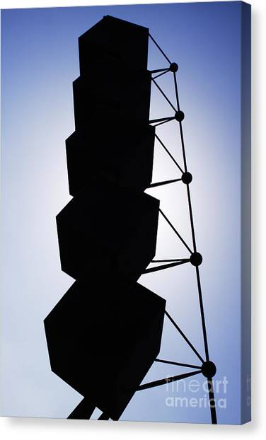 Backlight Structure Canvas Print