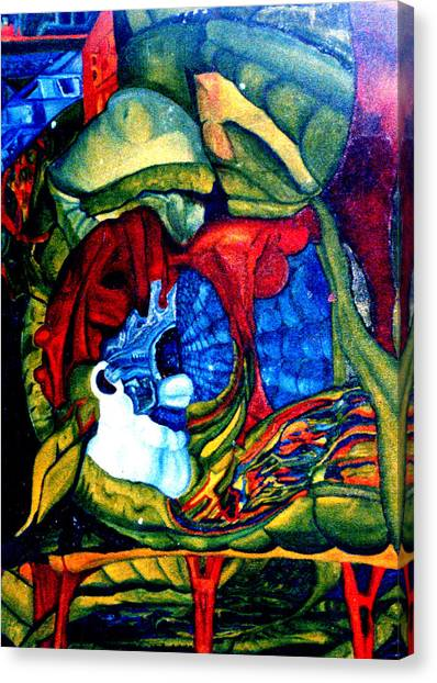 Backyard Planet Canvas Print by Dan Cope