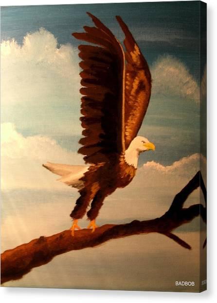 Badeagle Canvas Print