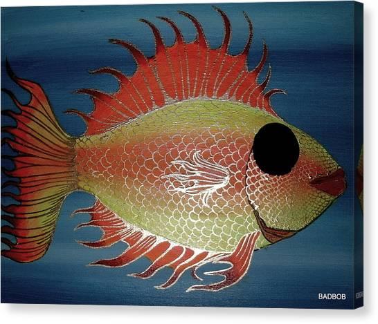 Badfish Canvas Print