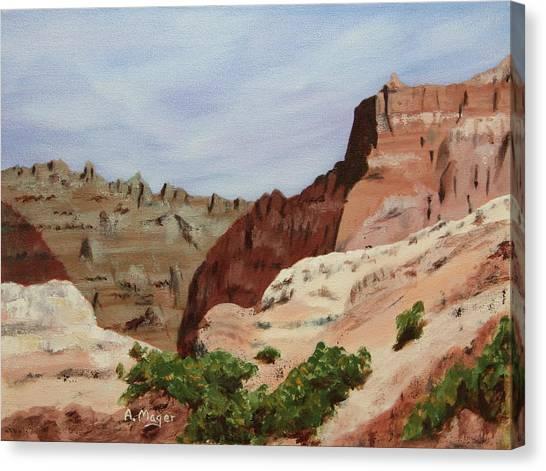 Badlands I Canvas Print