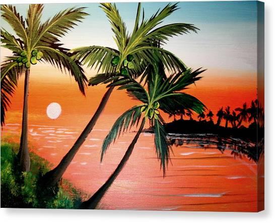 Badorange Canvas Print