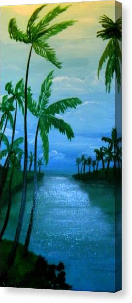 Badwind Canvas Print