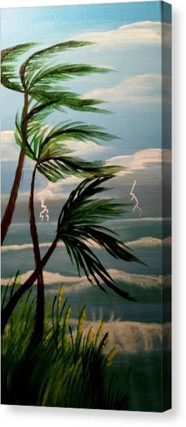 Badwindablowin Canvas Print