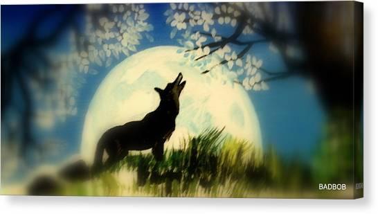 Badwolf Canvas Print
