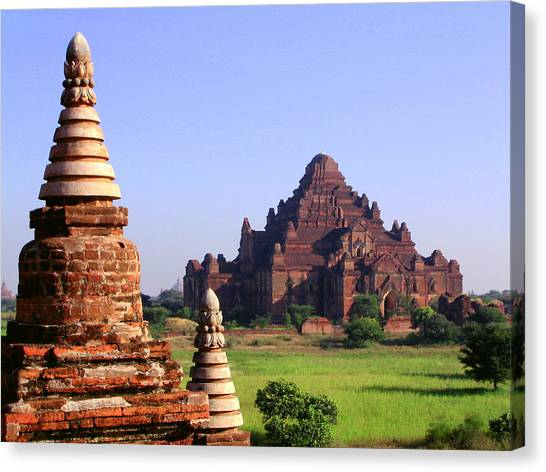 Bagan Temple Canvas Print