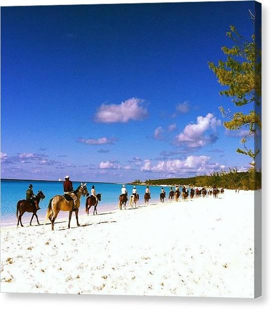 Bahamas Canvas Print - #bahamas #halfmooncay by Abbey Bays