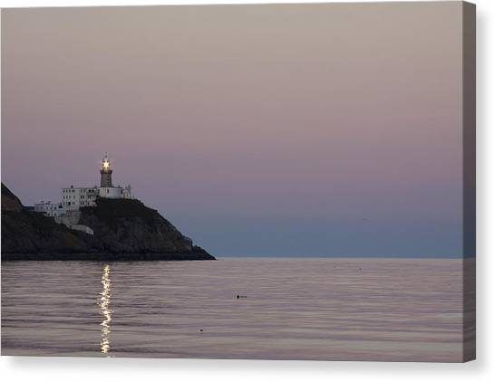 Baily Lighthouse Howth Canvas Print by Dave McManus