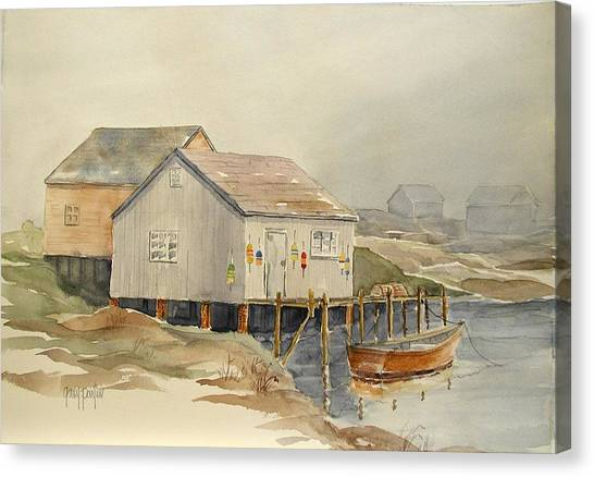 Bait Shop Canvas Print