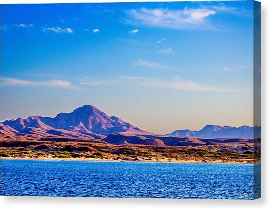 Baja Mountains Canvas Print by Russ Harris
