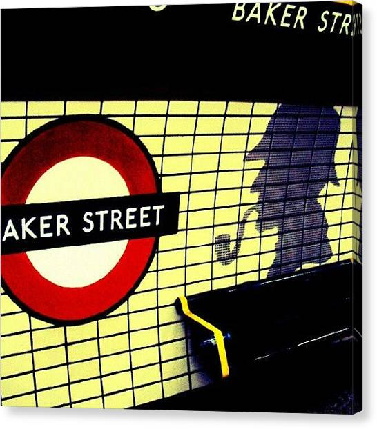 London Canvas Print - Baker Street Station, May 2012 | by Abdelrahman Alawwad