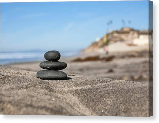 Canvas Print featuring the photograph Balance by Margaret Pitcher