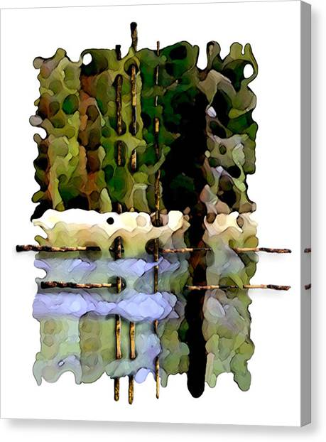 Balance Of Nature Canvas Print by Brenda Leedy