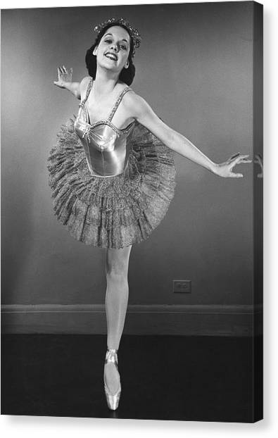 Ballet Dancer Canvas Print by George Marks