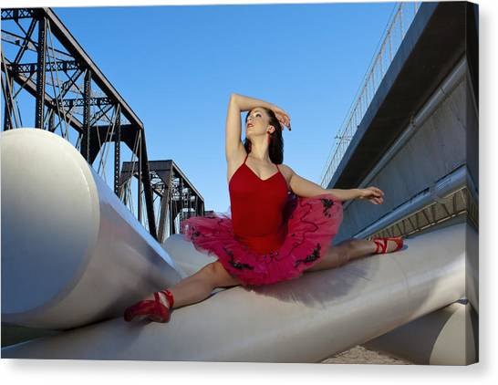 Ballet Splits Canvas Print