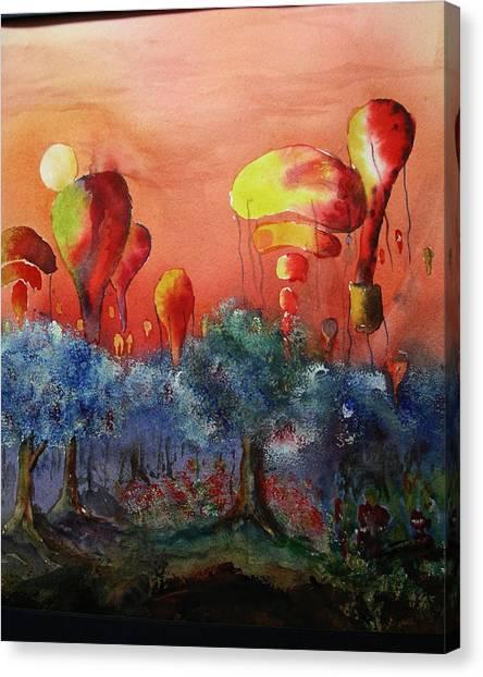 Balloon Fantasy Canvas Print by David Ignaszewski