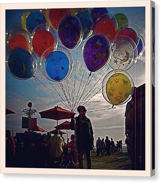 Balloons Canvas Print - #balloons #art #photography #muse #pier by Rick Macias