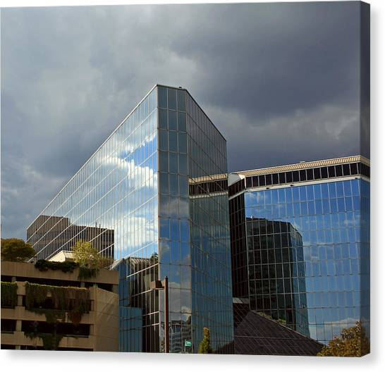 Baltimore Reflections Canvas Print