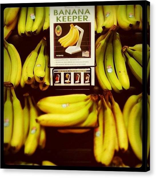 Keeper Canvas Print - Banana Keeper by Florian Divi