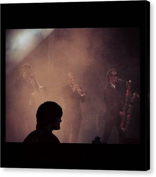 Celebrities Canvas Print - #band #group #guitar #concert #liveshow by Guillaume ELIAS