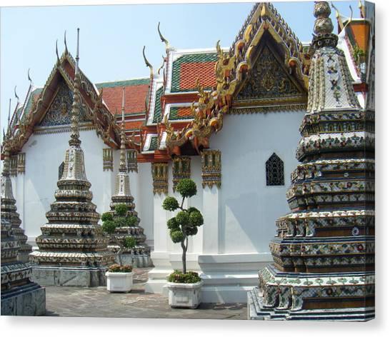 Bangkok Tample Canvas Print