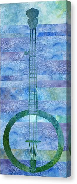 Banjos Canvas Print - Banjo Mesa by Jenny Armitage