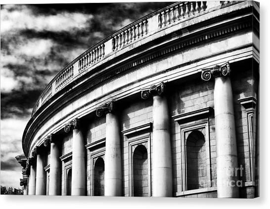 Bank Of Ireland Canvas Print by John Rizzuto