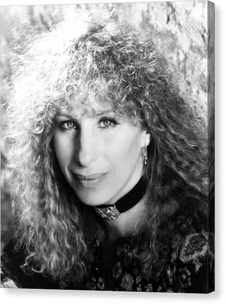 Barbra Streisand Portrait 1983 Photograph By Everett