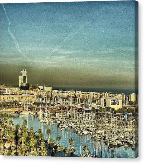 Spain Canvas Print - Barcelona - Port Vell by Joel Lopez