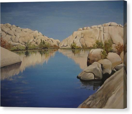 Barker Dam Canvas Print