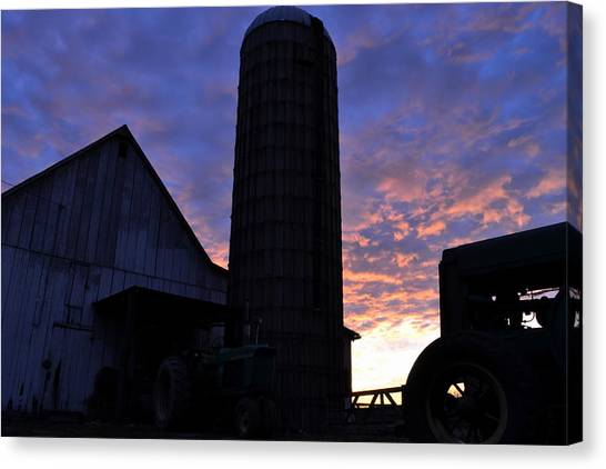 Barnyard Sunrise IIi Canvas Print