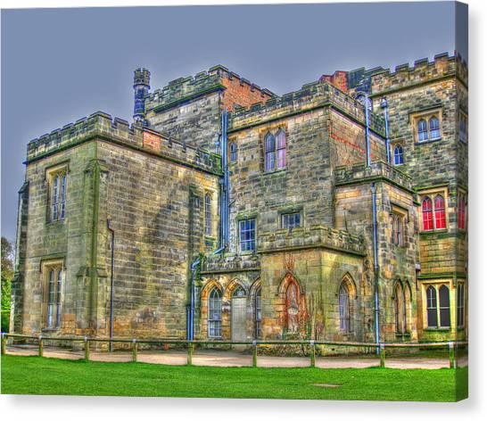 Baronial Home Canvas Print by Rod Jones