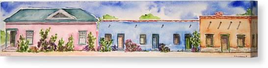 Barrio Viejo Canvas Print by Regina Ammerman