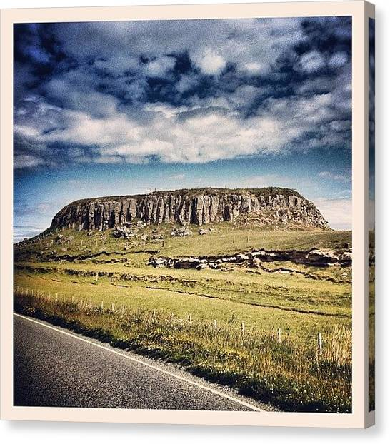Geology Canvas Print - Basalt Mound, Isle Of Skye by Robert Campbell