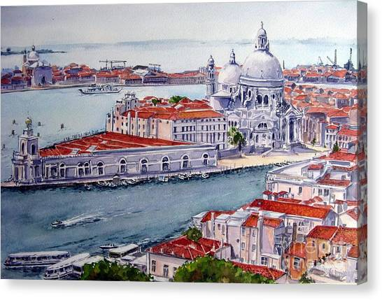 Basillica Di Santa Maria Della Salute Canvas Print