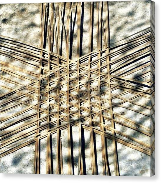 Stars Canvas Print - Basket Case.. Thailand #basketmaking by A Rey