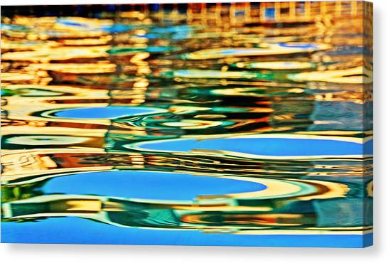 Canvas Print - Bathe In The Reflections by Donna Pagakis