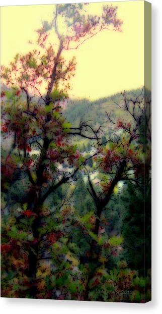 Bathe Me In Color Canvas Print