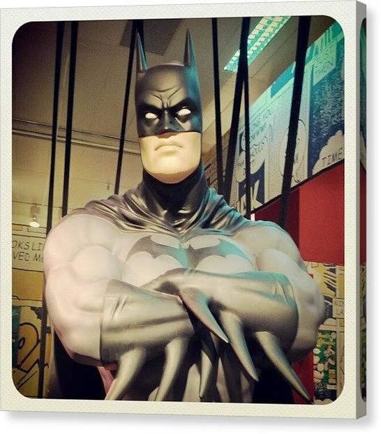 Comics Canvas Print - Batman by Oscar Rodriguez