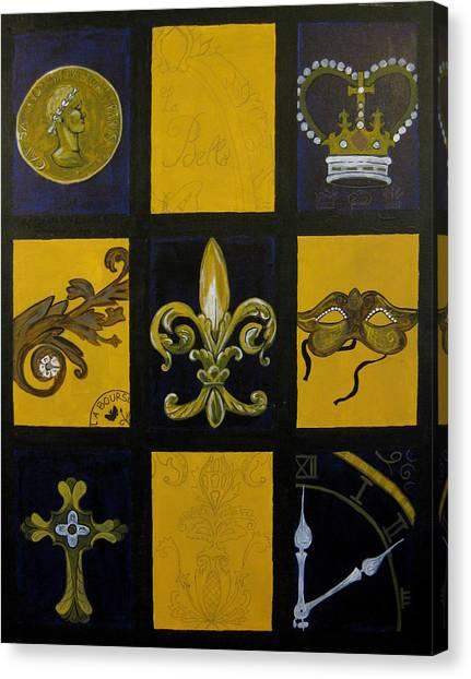 Baton Rouge Canvas Print by Angela Jensen